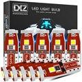 DXZ 10 шт. W5W T10 Светодиодный лампочки Canbus 12V 6000K 3SMD 194 168 салона Карта Купол для чтения Подсветка регистрационного номера Автоматическая сигналь...