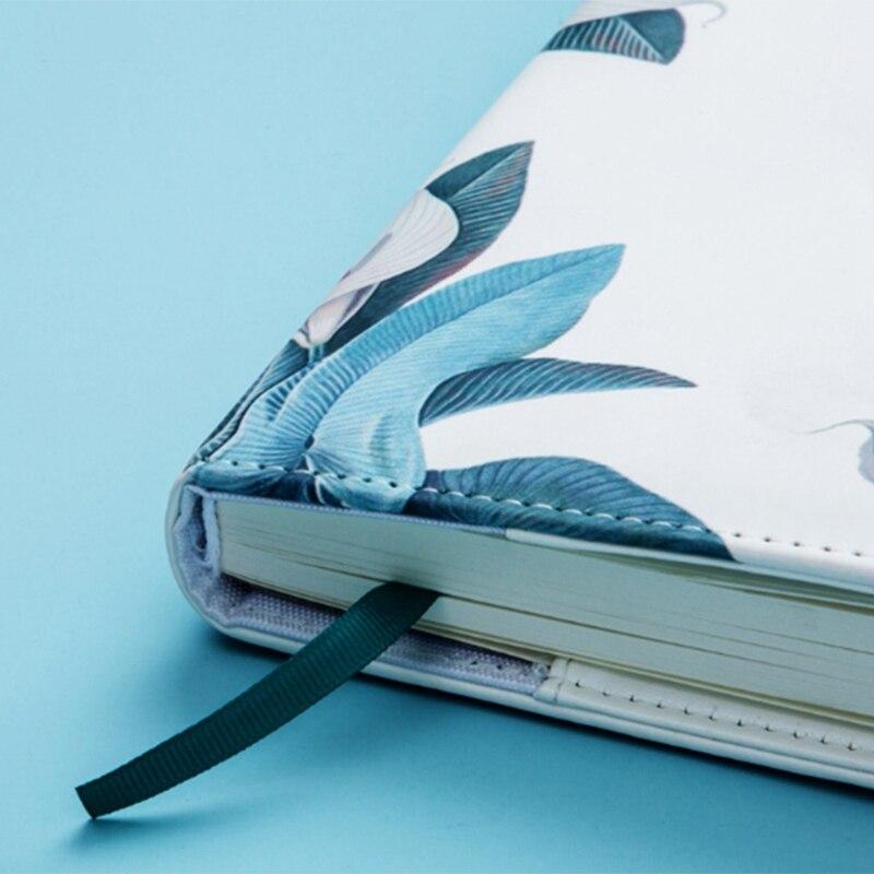 Bloco de notas sub-caderno diário com bloqueio