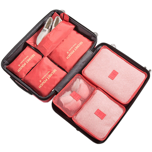 Image 5 - 7Pcs/set luggage Travel bag Suitcase Clothes Storage Bag Cosmetics packing cube organizer Baggage travel luggage bag accessories