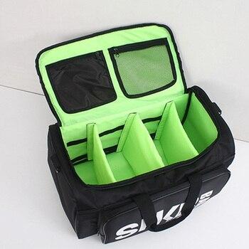 2019 Men Women Gym Bag For Sneaker Shoes Compartment Packing  Organizer Waterproof Nylon Sport Travle Duffel Bags Wholesale 6