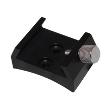 цена на Finder Scope Base with Lock Screw for Astronomical Telescope Finderscope Quick-Connect Dovetail Groove Adapter Bracket
