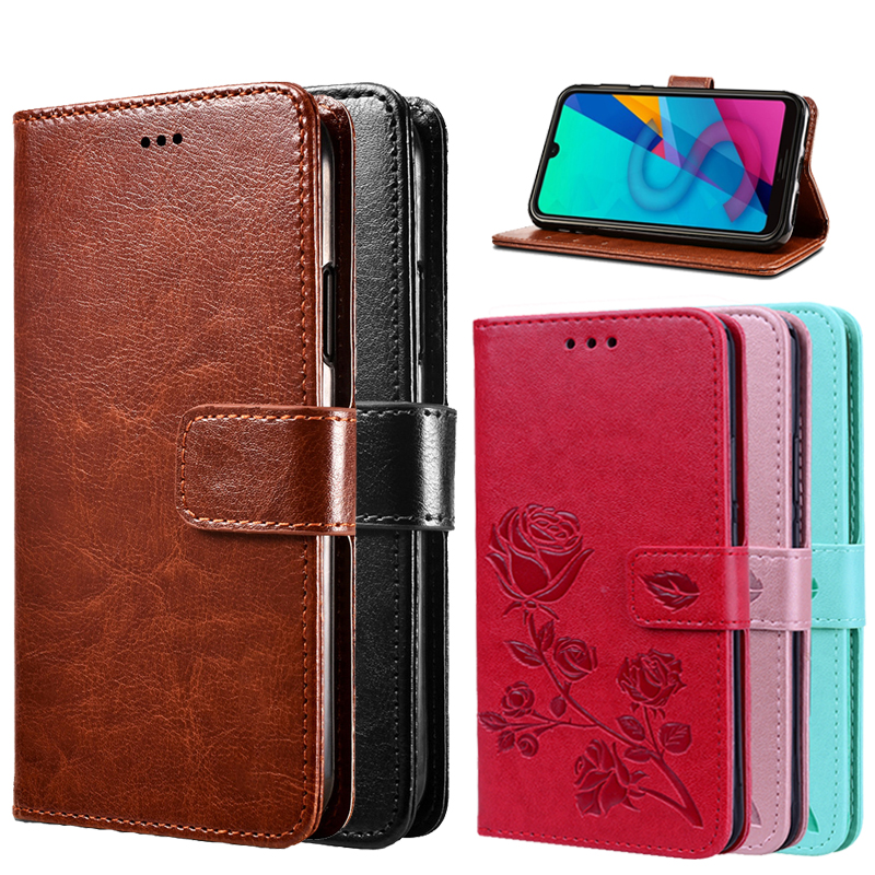 Flip Protective Case For <font><b>Alcatel</b></font> 1X 2019 <font><b>5008Y</b></font> Evolve Wallet Case Capas For <font><b>Alcatel</b></font> 1X 5059D Leather Protector Cover Coque Funda image