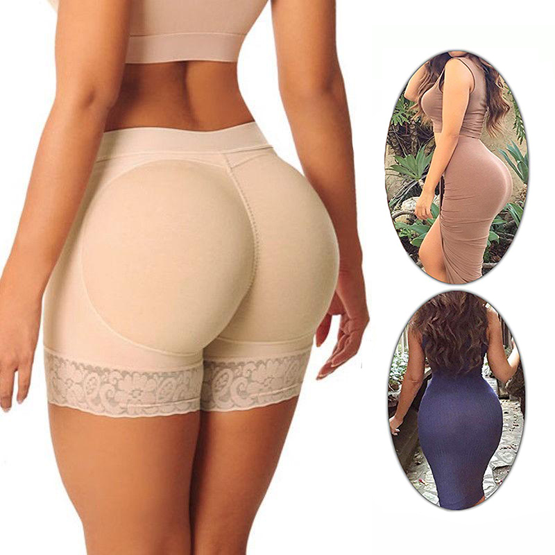 butt lifter body tummy shaper ass pulling panties slimming corrective underwear modeling strap shapewear butt enhancer pads faja(China)