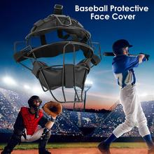 Baseball Face Guard Face Protector Protecting Cover Mask Helmet With Cushion Adjustable Buckles 3 Colors