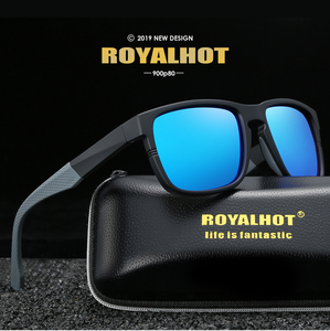 Image 2 - RoyalHot Men Women Elastic Cosy TR90 Frame Polarized Sunglasses Driving Sun Glasses Shades Oculos masculino Male 90080