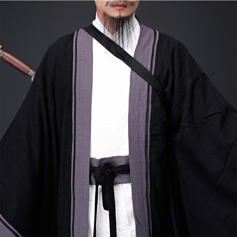 Ancient Chinese Hanfu Taoist Priest Men Clothing 5