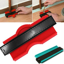 38# 9 8 Inch 250mm Plastic Contour Copy Duplicator Circular Frame Profile Gauge Tool Fine Tooth Profile Gauge Winding Wood Tool cheap ISHOWTIENDA Woodworking Wrenches Tools Measuring Set