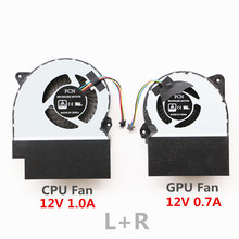laptop cpu cooler fan for asus rog gl702zc cpu cooling fan(China)