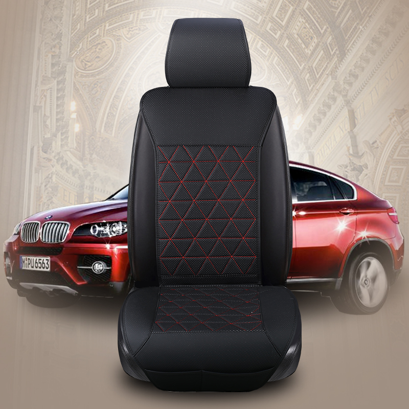 Universal Waterproof PU Leather Car Seat Cover Protector Four Seasons Cushion Automobiles Interior Seat Mat Auto Accessories