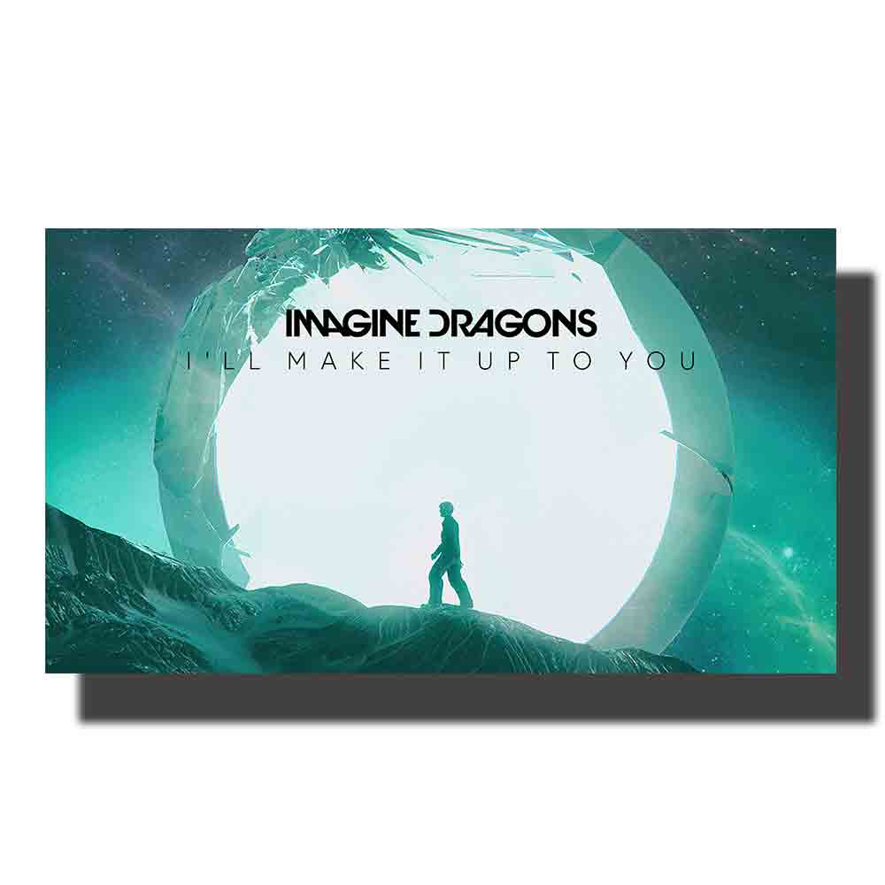 Imagine Dragons Album Music New Cover Silk Poster 16x16 24x24 inch