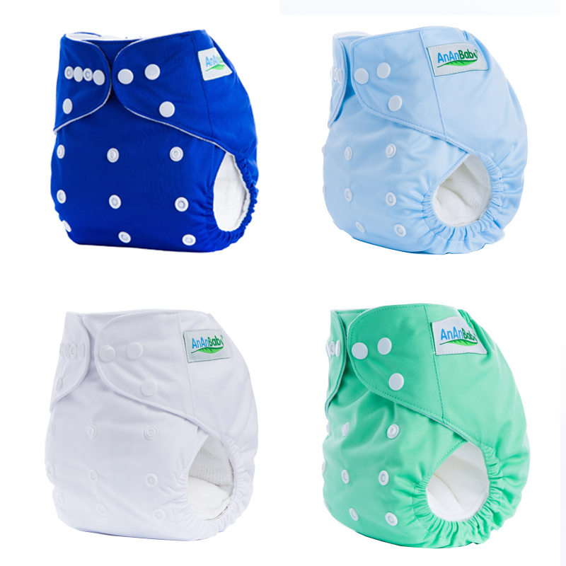 Baby Boys Gilrs Cloth Diapers Reusable Nappy Washable Soft Training Pants Cover Infant Panties Inserts Newborn Fitted Underwear