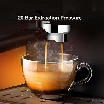 ITOP Electric 20Bar Italian Coffee Maker Household Americano Espresso Coffee Machine Fancy Milk Foam Maker 220V 5