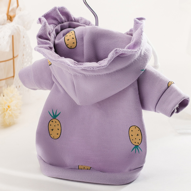 Pet Dog Clothes Print sweater Four seasons hoodie dog Clothes Cat Coat For Small Medium dog clothing Chihuahua Dog accessories