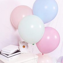 20pcs 12inch Multicolor Pastel Candy Balloons Wedding Baloons Round Macaron Balloon Arch Decoration
