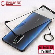 Voor Xiao Mi Mi A3 9 T 9 T Se 8 Explorer CC9 CC9E A2 A3 Lite 6X Cover Voor rode Mi Note 7 7A 6A K20 Pro Frameloze Back Case