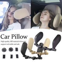 3th Generation Auto Sitz Kopfstütze Komfort Memory Foam Pad Auto Sitz Hals Kissen Schlafen Seite Kopf Unterstützung Auf Seiten Für kinder Erwachsene-in Nackenkissen aus Kraftfahrzeuge und Motorräder bei