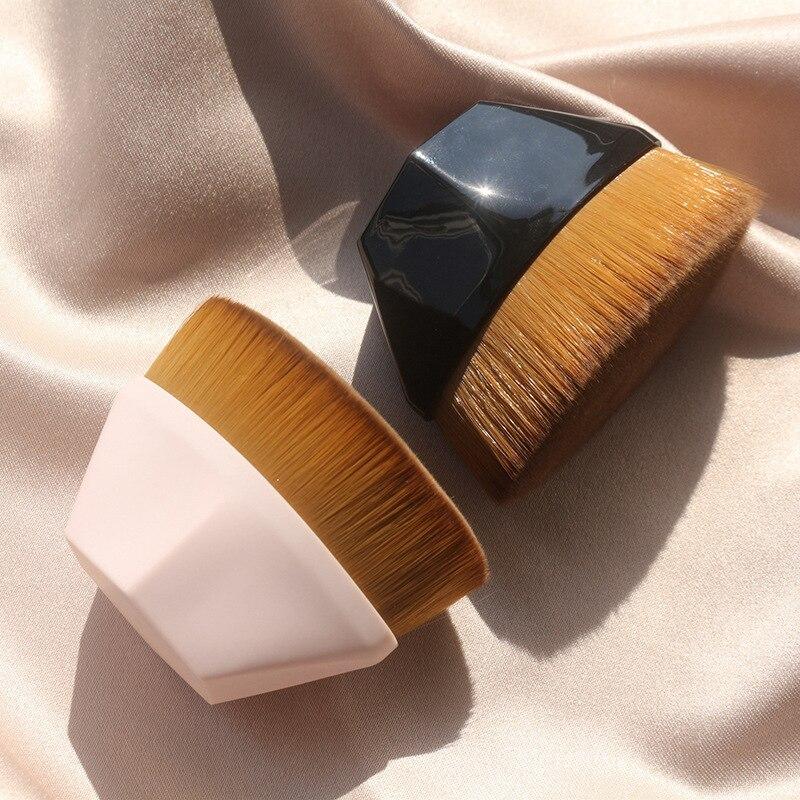 Кисти для макияжа, шесть кистей для основы, BB крема, кисти для лица, румян, пудры, кисти для макияжа, набор Плоских кистей, косметический инстр...