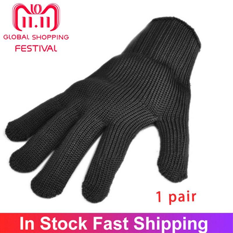 Новые перчатки из проволоки с защитой от порезов, многофункциональные перчатки с защитой от порезов и ударов, Рыболовные Перчатки из проволочной сетки из нержавеющей стали|Перчатки для рыбалки| | АлиЭкспресс