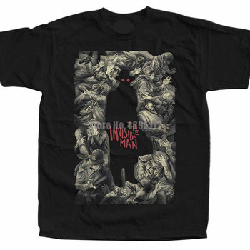 The Invisible WoWomen James Whale Movie Womens T Shirt Japanese Streetwear Tshirts Gym T-Shirt 100% Cotton T-Shirts For Women