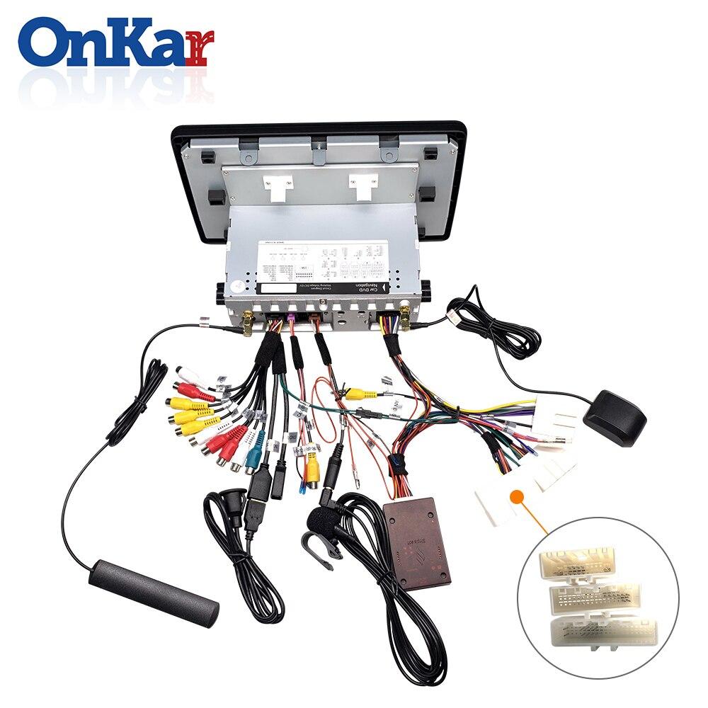 Sd עבור רדיו מקורי ONKAR 1 דין אנדרואיד רדיו אוטומטי עבור רנו Arkana 2019 עם שליטת הגה מקורי 9.0 תמיכה אנדרואיד עם יציאת USB SD (5)