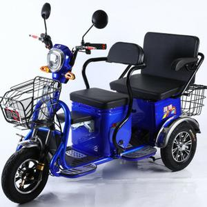 Round-Wheel Disabled Scooter Lithium-Battery Three-Seats Old-Elderly 20ah 48V for 600W/800W