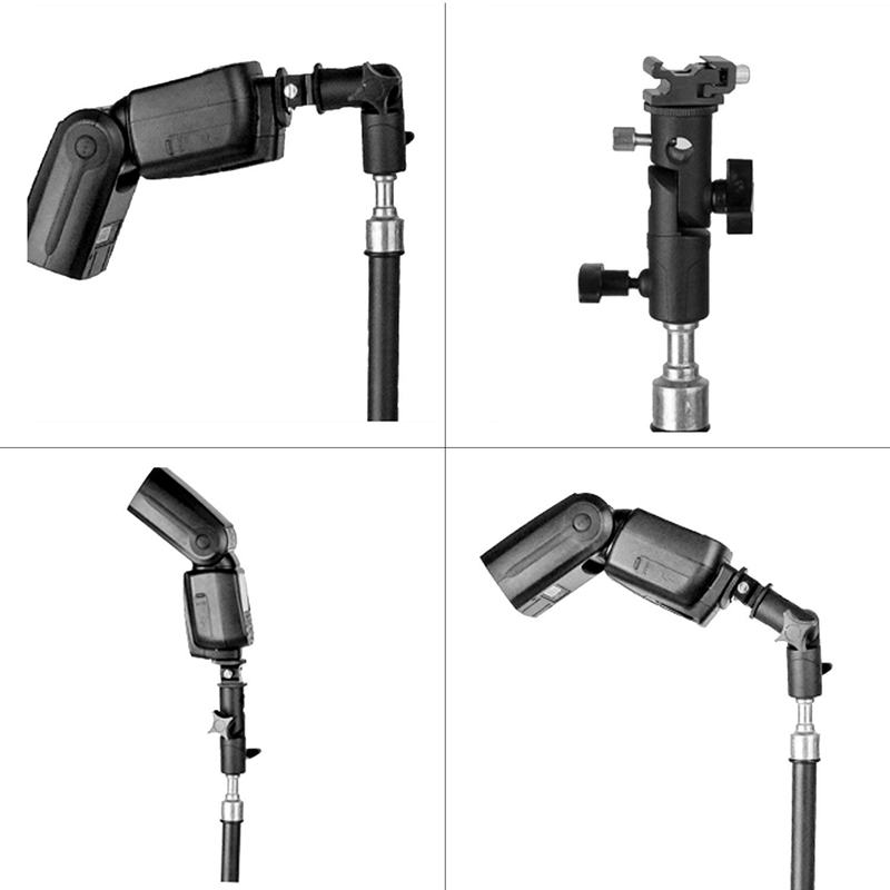 Bliț pentru cameră speedlite mount, suport rotativ profesional - Camera și fotografia - Fotografie 6