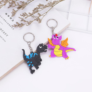 Image 5 - 6pcs/lot Dinosaur Rubber key chain Bracelet Birthday Party Supplies Gifts Wedding Gifts for Guests Favors Bracelet Lovers Gifts