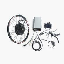 Мощный мотор ступицы заднего колеса 3000 Вт набор для электровелосипеда