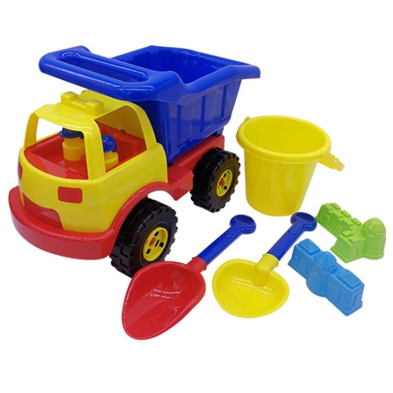 Beach Toys Large Engineering Vehicle Set Kids Beach Leisure Toys