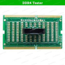 Laptop Moederbord Geheugen Slot DDR2/DDR3/DDR4 Diagnostic Analyzer Testkaart Sdram SO-DIMM Pin Out Notebook Led Tester kaart(China)