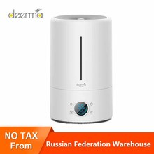 (Ru Ship)Deerma F628S 5Lcapacity UV lamp purification  Air Humidifier Baby Bedroom Office 12H Timing Air Purifying Touch Version