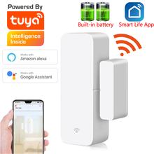 Tuya Smart WiFi Door Sensor Door Open Closed Detectors Compatible With Alexa Google Home Smar tLife APP Free Customised LOGO cheap zsviot CN(Origin) WKD-D03 LR03-1 5V AAA *22 6000 times trigger 70mA-120mA 2 4GHz IEEE 802 11b g n Tuya smart or Smart life
