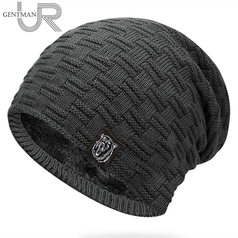 New Casual Unisex Winter Hat Add Fur Warm Tiger   Beanies   Hat Fashion Knitted Hat For Men & Women Outdoor Ski Sports   Beanie   Cap