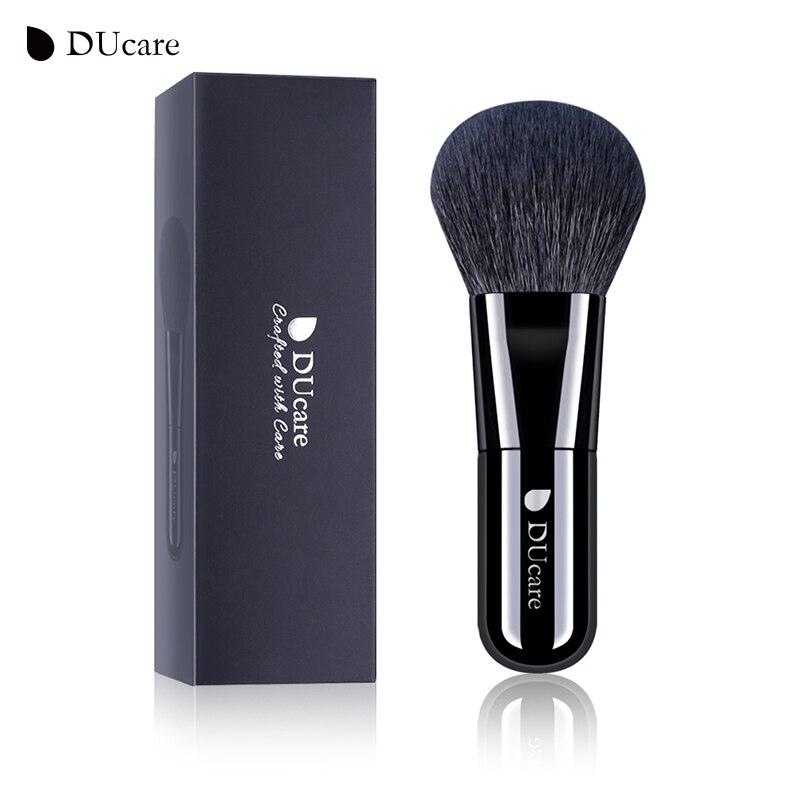 DUcare brocha Kabuki brocha pinceles blandos de maquillaje brocha de maquillaje de pelo de cabra herramientas de cosméticos de alta calidad brochas maquilaje