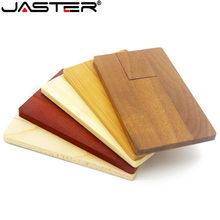 JASTER LOGO persönlichkeit maple holz karte USB flash drive U disk geschenk usb-stick 4GB 8GB 16GB 32GB 64GB (1 PCS freies LOGO)