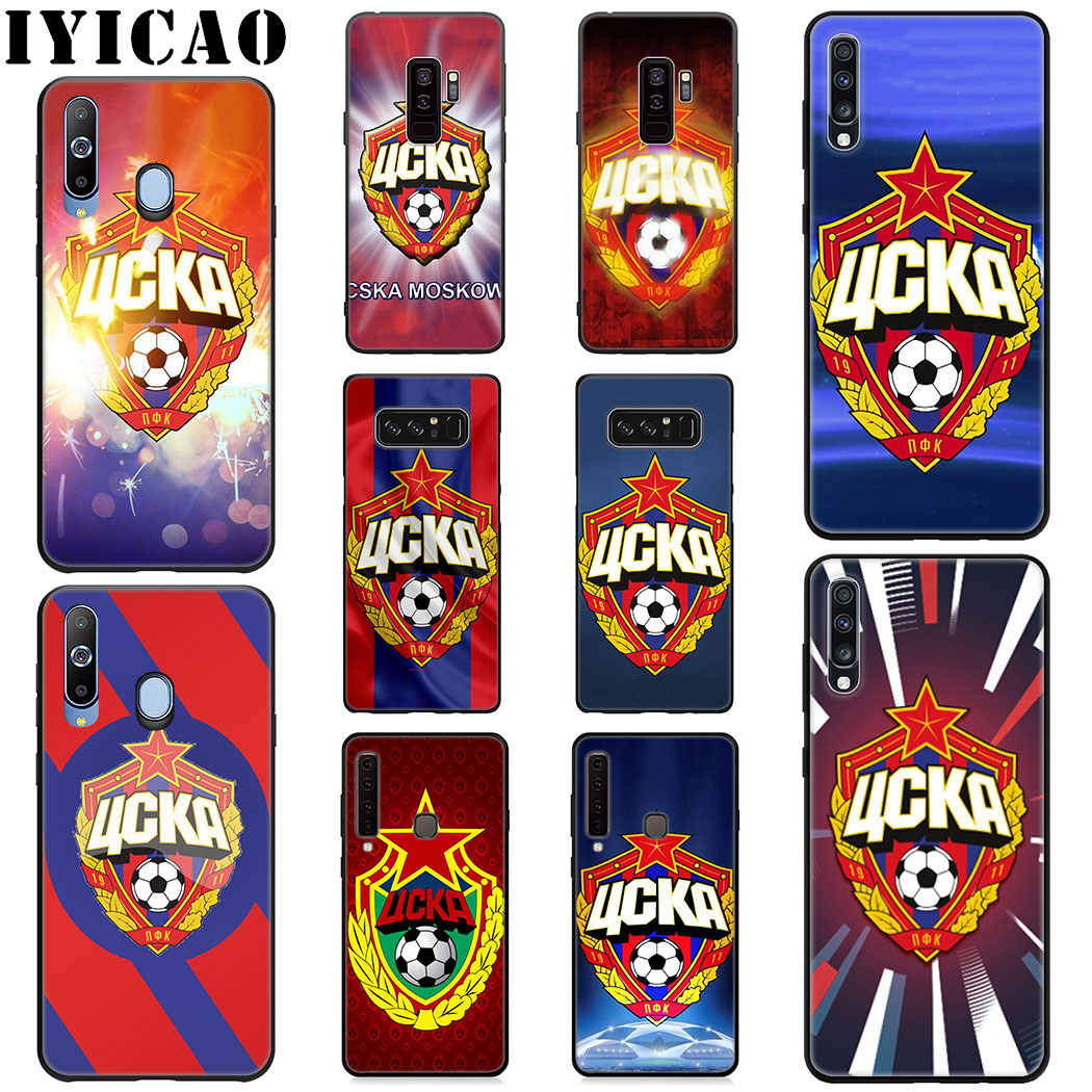 IYICAO PFC CSKA Moscow Silicone Soft Case for Samsung A10 A20 A30 A40 A50 A60 A70 M10 M20 M30 M40 Cover