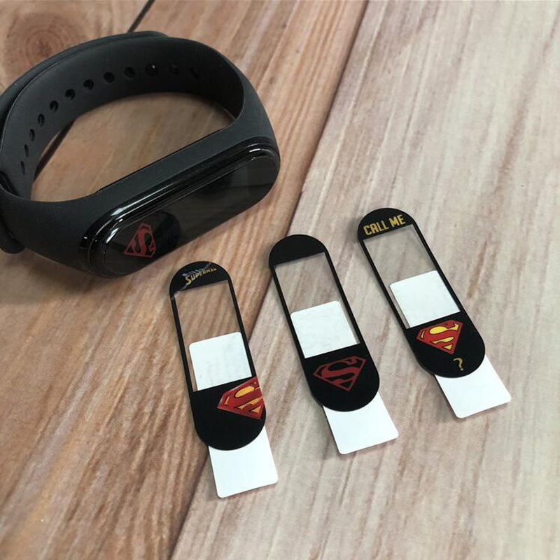 New Colorful Marvel Super Hero Protective Film Guard For Xiaomi Mi Band Miband 4 Band4 Sport Miband4 NFC Screen Protector Cover