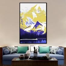 Настенная картина fuji snow mountain настенная Картина на холсте