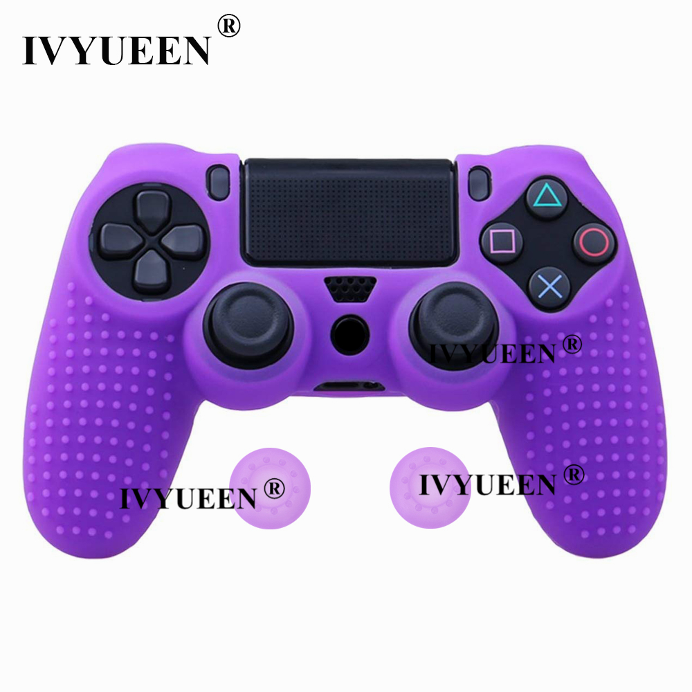 for Sony PlayStation dualshock 4 ps4 pro slim controller silicone case skin 23