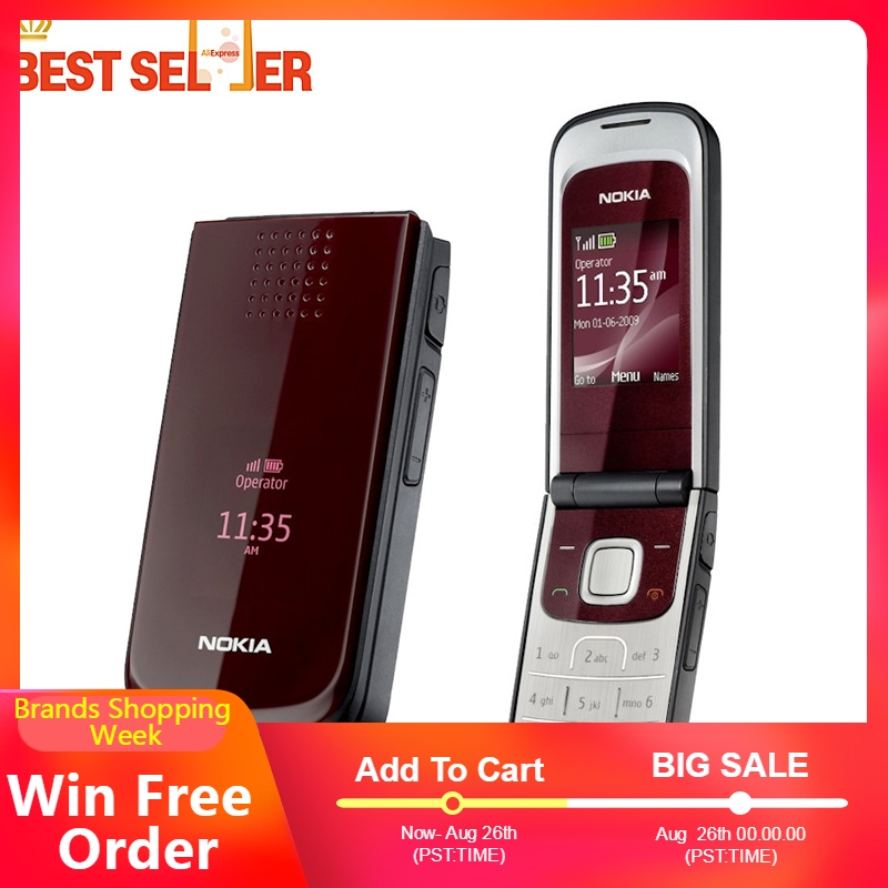 2720 Cheap phones original Nokia 2720 fold cell phones free shipping mobile phone