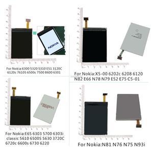 Replacement repair LCD display for Nokia 6300 5310 6120C 5320 E51 /N82 N78 N79 E66 E52/ N81 N76/6220 5700 5610 6500S E65 6303