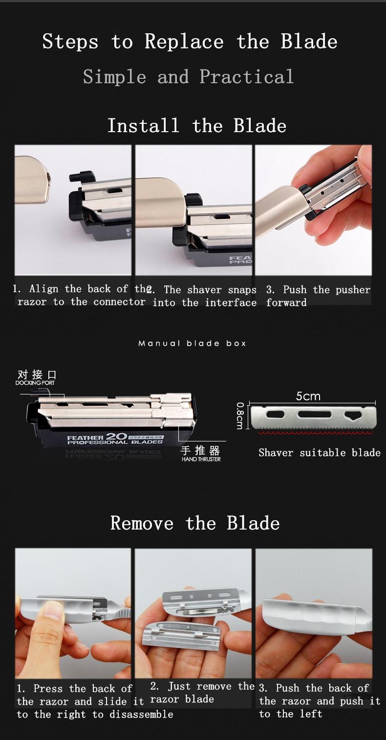 faca dos homens barbear barbeiro ferramentas g1105