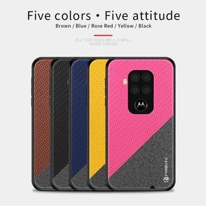 Image 5 - PINWUYO чехол для Motorola Moto One Zoom, кожаный чехол для телефона Motorola Moto P50 Note с мягкими краями, жесткий защитный чехол из поликарбоната