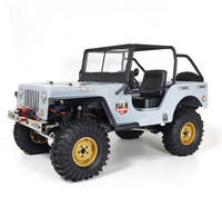 RCtown RGT EX86010 CJ 1/10 2.4G 4WD Split Transmission All terrain Off road Rock Crawler Climbing Vehicle RC Car RTR