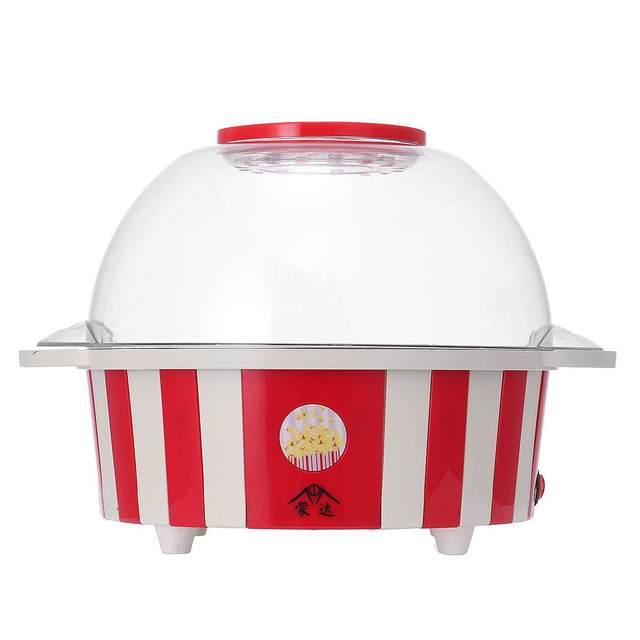 DIY Popcorn Makers 220V 850W Mini Electric Popcorn Maker Home Tabletop Party Movie Snack Household Kitchen Appliance Machine Appliances