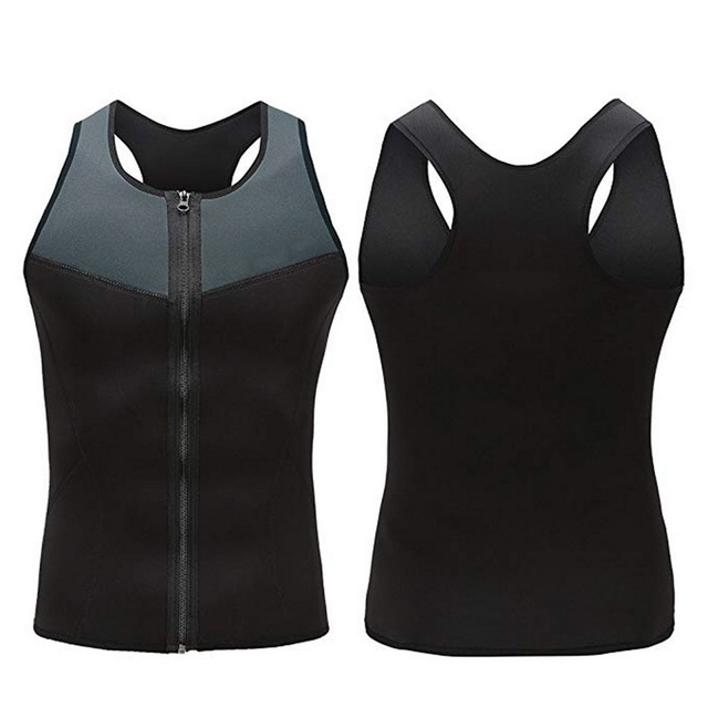 Slimming Belt Belly Men Slimming Vest Body  Neoprene Abdomen Fat Burning Shaperwear Waist Sweat Corset Weight Dropship 1