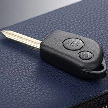 자동차 원격 키 쉘 케이스 Fob For Citroen Saxo Berlingo Picasso Xsara 2 버튼 자동 키 쉘 교체 자동차 커버