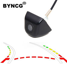 Dynamic Trajectory Tracks Night vision ccd hd color waterproof Car Rear View Parking Camera