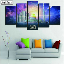 5d diamond painting city landscape full square dubai tower mosaic kids crafts embroidery sticker
