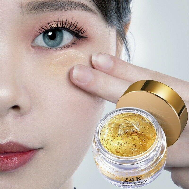 Barnd New Gold Repairing Eye Cream Anti-Age Gel Dark Circles Puffiness Remove Anti Wrinkles Care